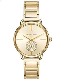 ساعة مايكل كورس للنساء بسوار من الستانلس ستيل الذهبي - MK3639