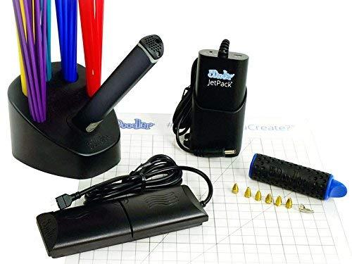 3Doodler Create 3D Pen 3D Stift 3D Drucker mit 25 Strängen von PLA und 25 Stränge aus ABS-Kunststoff - 4