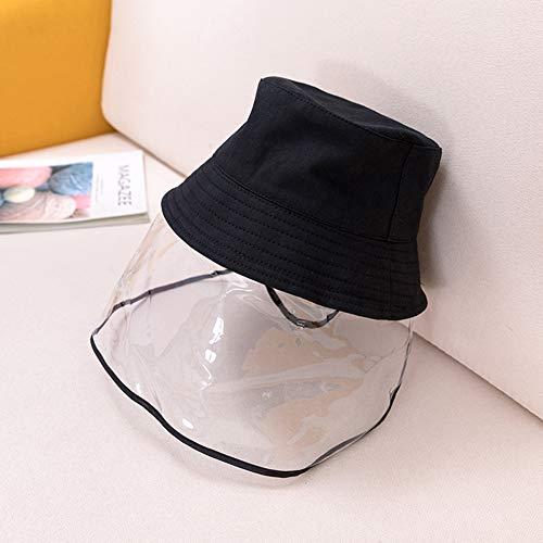 Außenschutzkappe Anti-Fog UV-Schutz Sonnenhut für Kinder Jungen Mädchen, Anti Spitting Protective Face Shield Cover Eimer Hut,Adult