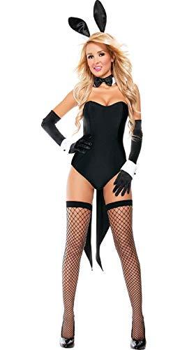 Gdofkh Lencería Sexy Disfraz de Halloween Bunny Girl Disfraz de Conejito de tentación Sexy Disfraz de actuación