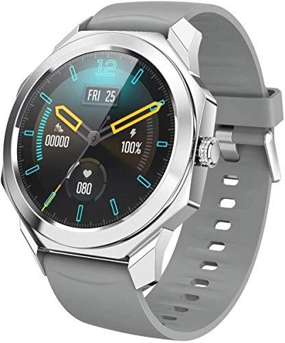 AMBM Smart Watch 1 3 pulgadas de alta resolución Tft pantalla a color diseño octogonal natación información deportes pronto impermeable IP68 desgaste diario/gris