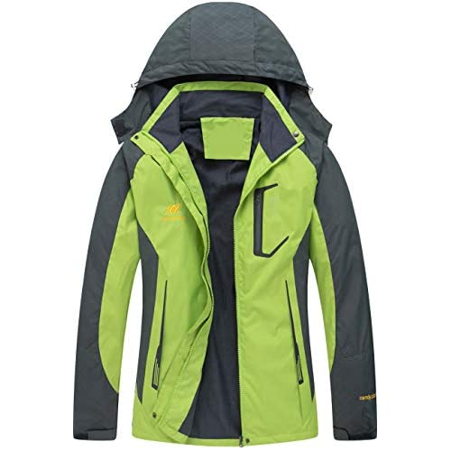 41EIvedffaL. SS500  - Diamond Candy Women's Waterproof Jacket Outdoor Hooded Raincoat