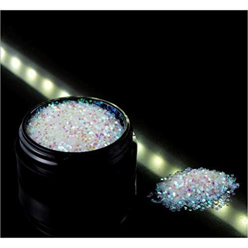 Nailart - Exclusives irisierendes Glitter/Glitzer Puder - extra grob 0,5 mm - 1004-301