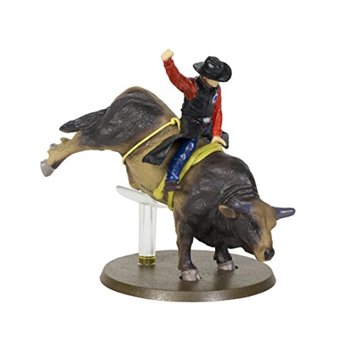 Big Country Toys Sweet Pro s Bruiser - 1:20 Scale - PBR 2017 Bull of The Year - Bull Riding Figurine - Rodeo Figurine