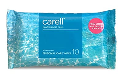 Clinell Refreshing Patient Wipes - Pack of 10 from Gama Healthcare