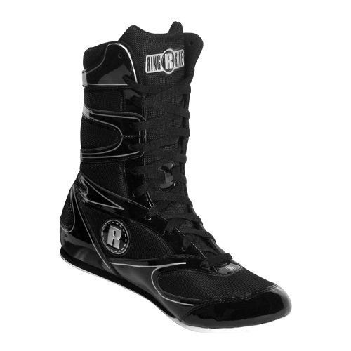 Ringside Undefeated Wrestling Boxing Shoes, 7, Black
