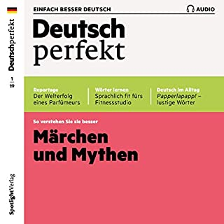 Deutsch perfekt Audio. 1/2019 Titelbild