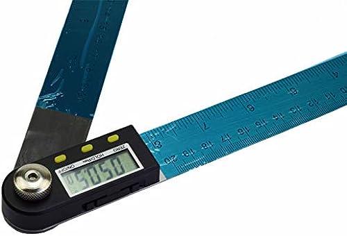 ventas en linea ChaRLes 200 300 500Mm 12 Pulgadas ángulo ángulo ángulo Digital Regla Finder Medidor Projoractor Inclinómetro Goniometer Indicador De ángulo Electrónico - 500Mm  autorización