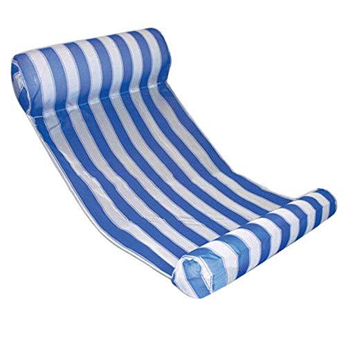 Colchón Inflable de salón Flotante para Piscina para Nadar Silla de Aire Hamaca de Agua Flotador de Fondo Marino Nuevo Premium