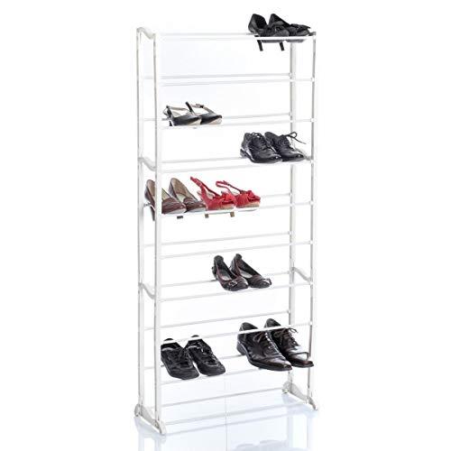 ID SPACE Etagère range chaussures capacité 30 paires
