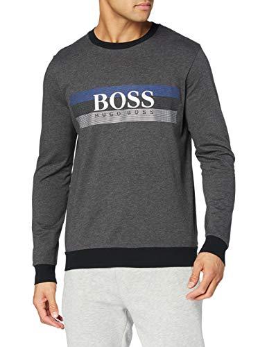 BOSS Authentic Sweatshirt Sudadera, Dark Grey22, M para Hombre