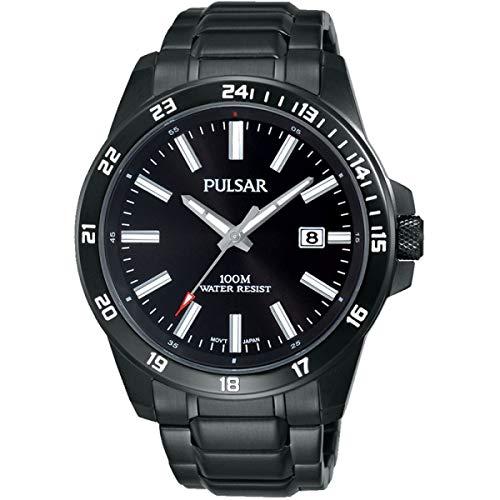 Pulsar Sport Herren-Uhr Edelstahl mit Metallband PS9461X1