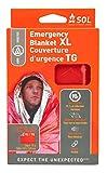 S.O.L. Survive Outdoors Longer 90 Percent Heat Reflective Survival Blanket