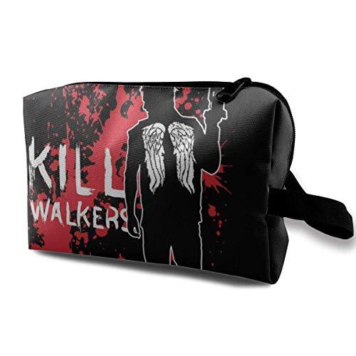 Schminktasche Kosmetiktasche Die Walking Dead Daryl Armbrust Multifunktionale Tasche Travel Kit Aufbewahrungstasche