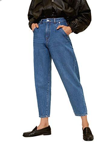 MNG Damen Jeans Slouchy Regina 67061503 blau Gr.44