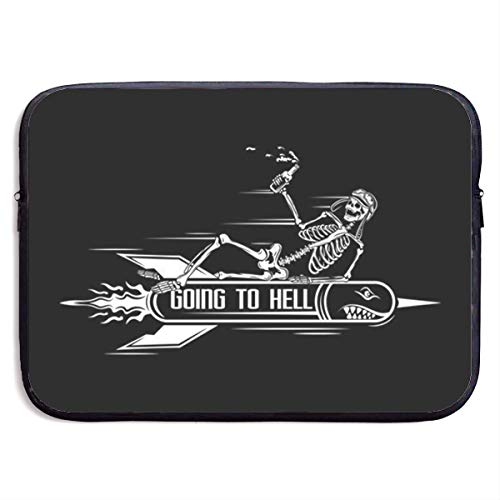 The Dead Drunk Beer On The Missile Laptop Sleeve Bag Case,Laptop Briefcase Soft Carring Tablet Travel Case,13 inch