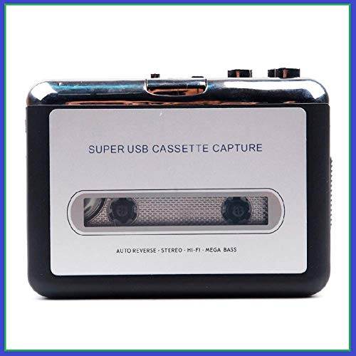 REC Trade USB Cassette to MP3 Converter Capture Audio Music Player Tape Cassette Recorder