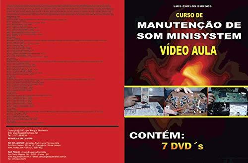 Curso em DVD aula Som Minisystem.Col.Completa 7 Vol.Prof. Burgos