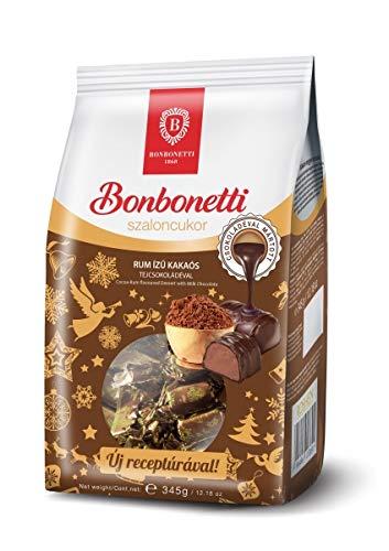 Kakao Weihnachtspraline mit Rumgeschmack - Rum izü kakaós szaloncukor Bonbonetti