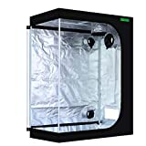 VIPARSPECTRA 48'x24'x60' Reflective 600D Mylar Hydroponic 4'x2' Grow Tent for Indoor Plant Growing (120 x 60 x 150cm)