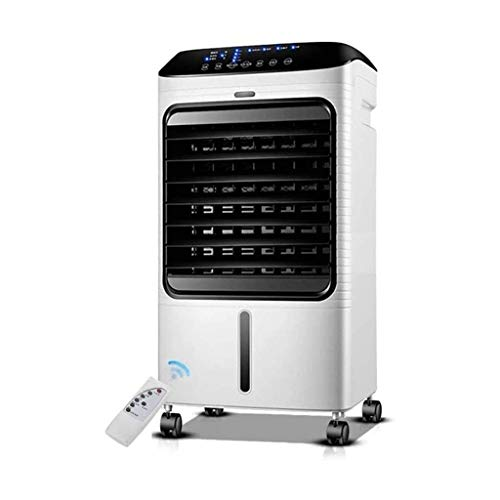 Tragbarer Luftkühler mit Fernbedienung, 3 Lüfterdrehzahl, 7,5-Stunden-Timer und 8-Liter-Wassertank, geeignet für Zuhause, Schlafzimmer und Büro, B.