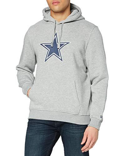 New era Dallas Cowboys Hoody Team Logo Po Hoody Heather Grey - 3XL