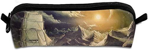 Pencil Case Craft Moonlight Reißverschluss Pen Bag Kosmetische Make-up Taschen für farbige Aquarellstifte