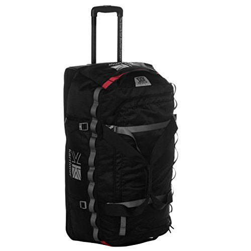 Karrimor Unisex Altitude 100L Wheeled Holdall Zip Mesh Black One Size