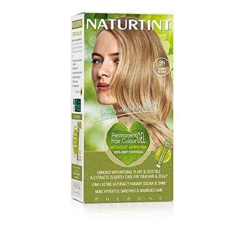 Naturtint 9N Honey Blonde Permanent Hair Colour (permanente Haarfarbe), 165ml