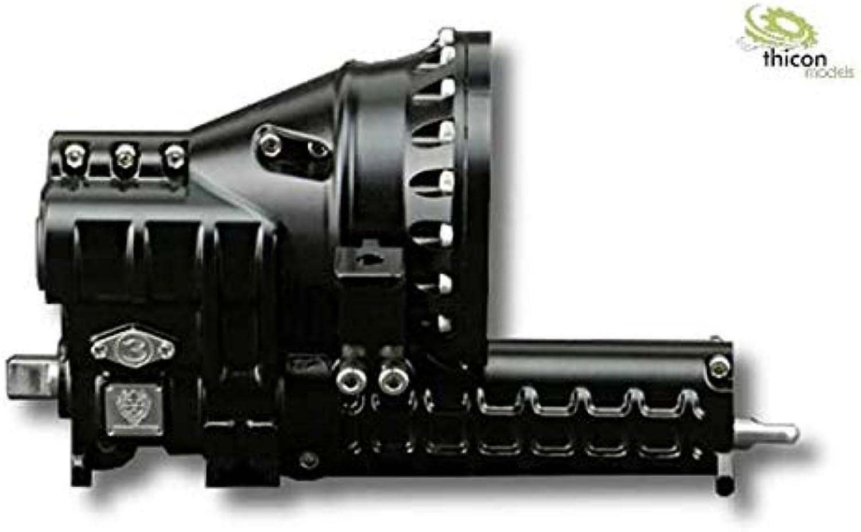 Thicon 1 16   1 14 3-Gang-Getriebe Metall für 540er Motoren