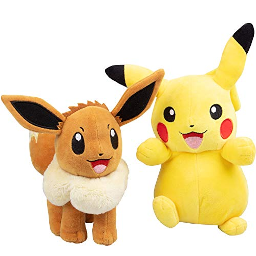 Pokémon Eevee and Pikachu 2 Pack P…
