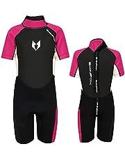 SKINFOX Scout 2-16 J. Kinderpak Shorty wetsuit roze