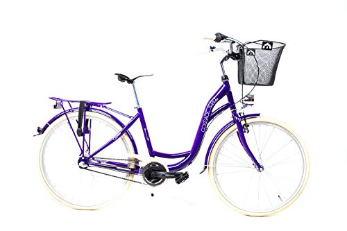 26 Zoll Fahrrad City Damen Bike Shimano...