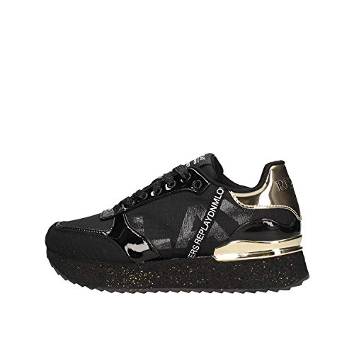 Replay GWS63.250 - Zapatillas blancas para mujer GWS63.250.C0032T Bianco 37