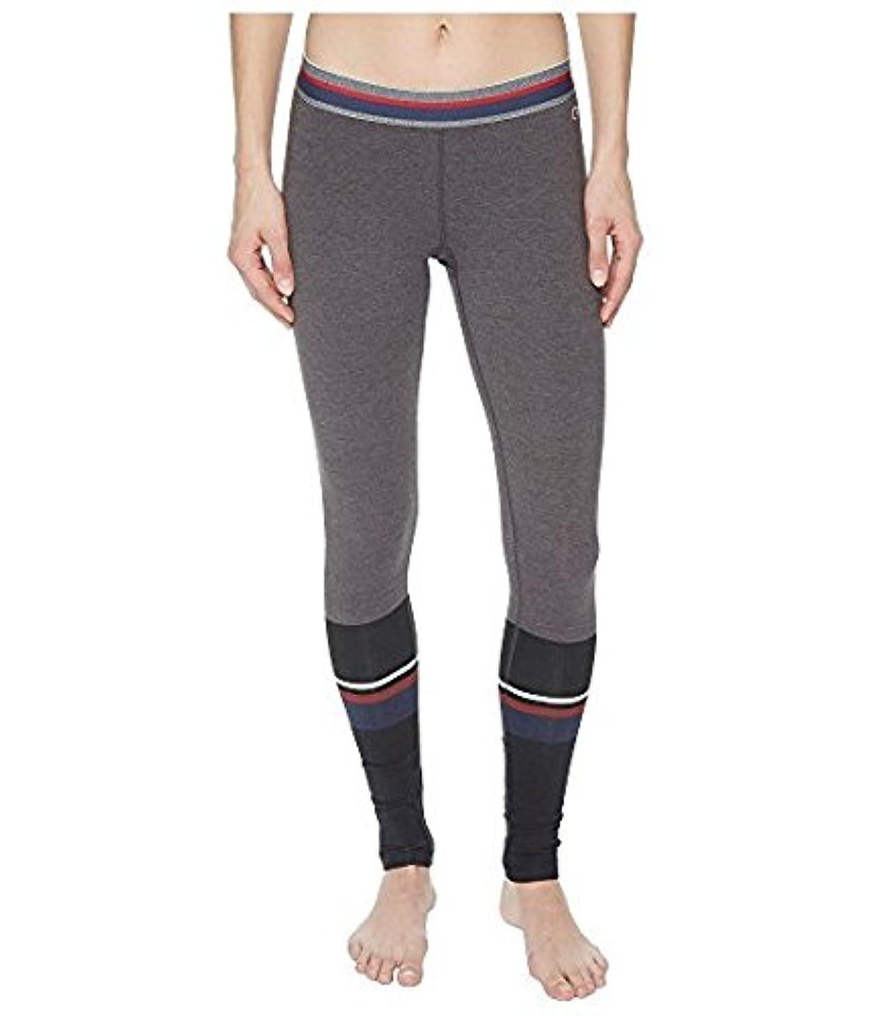 トランペット合図領域チャンピオン Champion レディース パンツ Tube Sock Placed Bla Authentic Leggings - Print [並行輸入品]