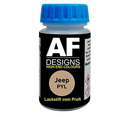 Lackstift für Jeep PYL Light Gold Perl Metallic schnelltrocknend Tupflack Autolack