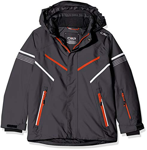 CMP Chaqueta de esquí Feel Warm Flat 5.000 39W1854 Chaqueta, Niños, Antracite, 176