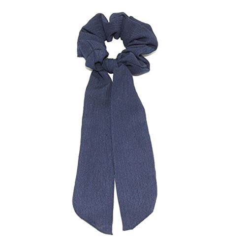 GGBHD Cinta con estampado floral arco arco pelo mujer elástico pelo con pañuelo de cola de caballo corbata de pelo Venda (Color : 18)