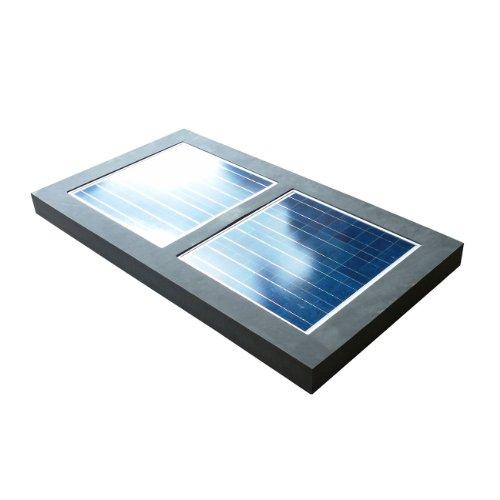 Natural Current NCS120WEHTR Savior Electric Solar Powered Water Heater, 120-watt
