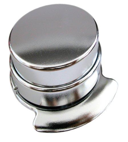 Wedo 127154 – Klammerloses Heftgerät (Kunststoff) verchromt - 2