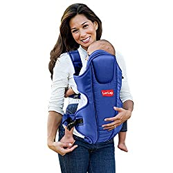 LuvLap Galaxy Baby Carrier with Padded Head Support, for 6 to 36 Months Baby, Max Weight Up to 12 Kgs (Blue),Luvlap,18203