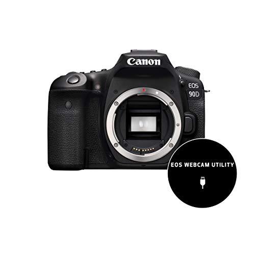Canon-EOS-90D-Camara-Reflex-de-325-MP-Sensor-APS-C-45-Puntos-AF-Disparos-de-10fps-EOS-Movie-4kFull-HD-Wi-fi-Bluetooth-Negro