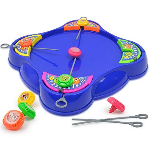 LCY Gyro Arena Spiel Kinder Kämpfen Top Kinderplastikanzug Spielzeug Gyro Arena Spielzeug Pull-Out-Gyro Kampf Teller Kinderspielzeug Urlaub Geschenke