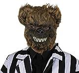I LOVE FANCY DRESS LTD 12 MASCARILLAS para Adultos DE Oso Marron con Detalles Y Pelo Accesorios Disfraces DE Halloween