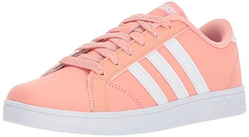 adidas Unisex-Kids Baseline, Trace Pink/White/White, 6.5 M US Little Kid
