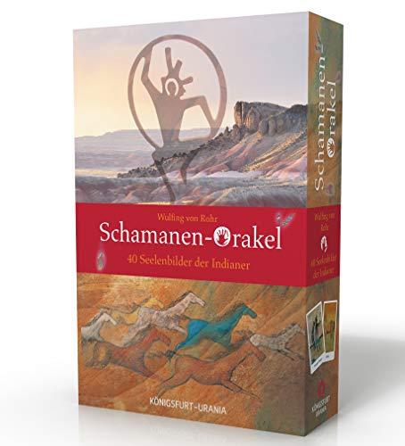 Schamanen-Orakel. 40 Seelenbilder der Indianer: Set mit Buch und Karten