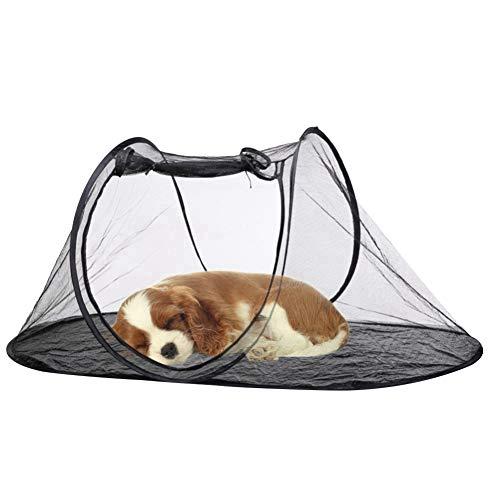 Ichiias Parque para Mascotas, casa para Mascotas, Tienda portátil para Perros, Perros Plegables para Gatos de Patio Interior y Exterior