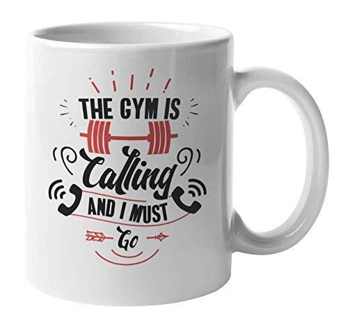 NA El Gimnasio está Llamando y Debo IR, Fitness Taza de café...