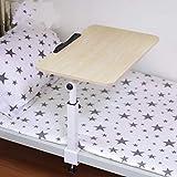 KXGL Tragbar Mobil Laptop-Tisch Fauler Tisch Neigbar,Laptop-Arbeitsplatz Laptoptisch Tischständer Beistelltisch Sofa Nachttisch Student Schlafsaal-E
