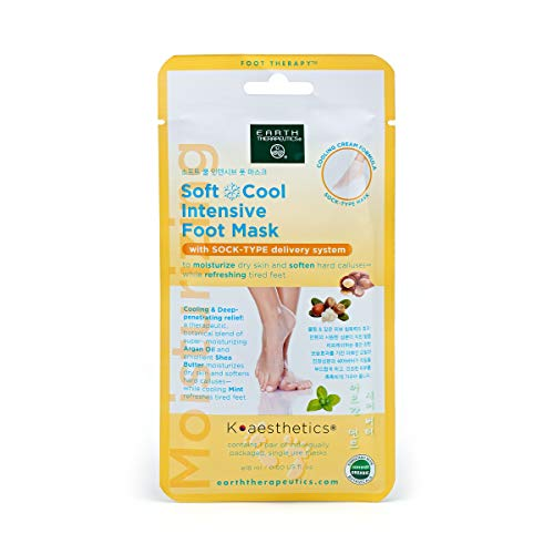 Earth Therapeutics Soft & Cool Intensive Foot Mask